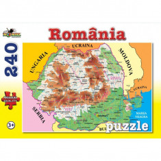 Puzzle 240 piese Lumea vesela - Romania