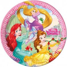 Farfurii cu printese Princess Dreaming 20cm set 8 buc