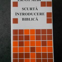 ERNST AEBI - SCURTA INTRODUCERE BIBLICA