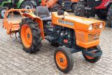 Tractor japonez folosit 15CP, 4x4, cu freza de pamant
