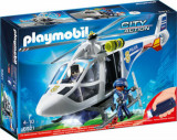 Playmobil City Action, Elicopter de politie cu led