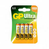 GP Baterie Ultra Alcalina R6 AA 4buc GP15AUP-2UE2, GP Batteries