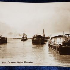 Giurgiu. Portul Ramadan - CP Ilustrata
