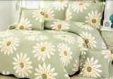 Cuvertura de pat + 4 Fete de Perna - Pat 2 Persoane - 100% Bumbac - E-S40