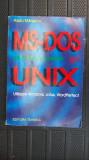 MS DOS SISTEME DE OPERARE SI UNIX UTILIZARE WINDOWS , LOTUS ,WORDPERFECT