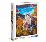 Puzzle Castelul Neuschwanstein. 1000 piese, Clementoni