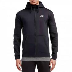 Hanorac sport Nike M Nsw Hoodie FZ Fleece Club 804389-010 pentru Barbati