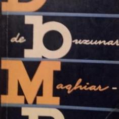 DICTIONAR DE BUZUNAR MAGHIAR - ROMAN - BELA KELEMEN