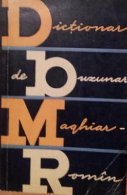 DICTIONAR DE BUZUNAR MAGHIAR - ROMAN - BELA KELEMEN foto