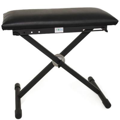 Scaun pentru orga/clape sau pian, Negru foto