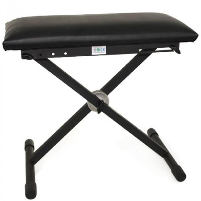 Scaun pentru orga/clape sau pian, Negru