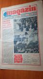 """Ziarul magazin 13 septembrie 1986-art."""" inalte exigente ale scolii romanesti"""""""