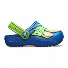 Saboți Băieți casual Crocs Crocs Fun Lab Creature Clog, 23.5 - 25.5, 27.5, 29.5, Albastru