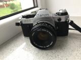Canon AE-1 Program + FD 50 mm, 1.8