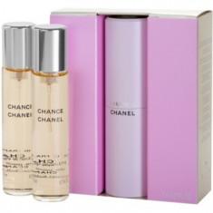 Chanel Chance eau de toilette (1x reincarcabil + 2x rezerva) pentru femei