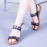 Sandale dama Etimera negre