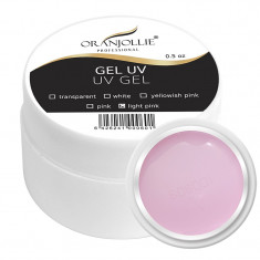 Gel UV 3 in 1 Oranjollie, 30 g, nuanta Light Pink