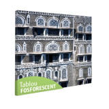 Tablou fosforescent Case in Yemen