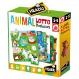 Joc Bingo Montessori - Sa potrivim animalele