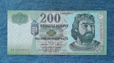 200 Forint 2006 Ungaria foto