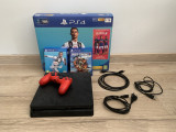 PS4 slim + 2 jocuri