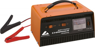 Incarcator baterie 6V/ 12V 6.5A/8A cu indicator incarcare a bateriei si protectie foto