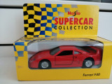 Bnk jc Ferrari F40- 1/39 - Maisto Supercar Collection