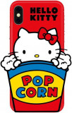 Protectie Spate Hello Kitty 3D Object Popcorn pentru Apple iPhone XR (Multicolor)