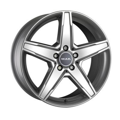 Jante MERCEDES C-KLASSE Staggered 8.5J x 19 Inch 5X112 et45 - Mak Stern Italia Silver - pret / buc foto
