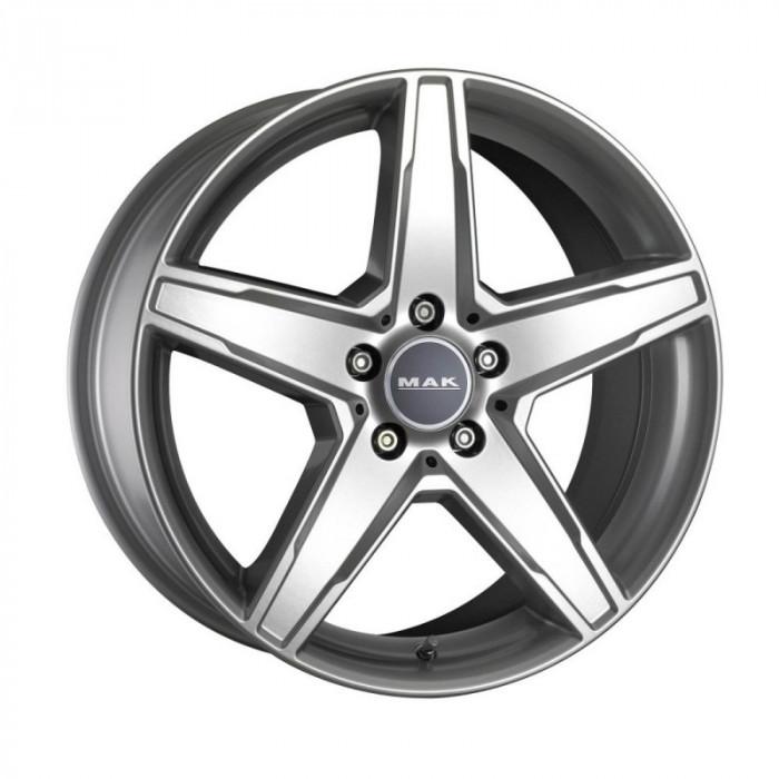 Jante MERCEDES C-KLASSE Staggered 8.5J x 19 Inch 5X112 et45 - Mak Stern Italia Silver - pret / buc