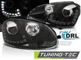 Faruri compatibile cu VW GOLF 5 10.03-09 LED DRL Negru
