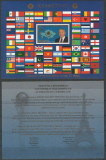 KAZAKHSTAN 2013 STEAGURI FOITA DE AUR SI CERTIFICAT DE AUTENTICITATE
