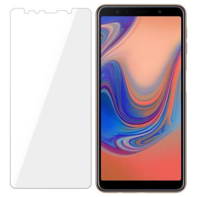 Folie Protectie Sticla Flexibila 3MK pentru Samsung Galaxy A7 2018 Fata&Spate Structura Incasabila 7H 02 mm foto