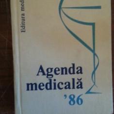 Agenda medicala '86