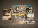 Lot reviste Moto/Motociclism/Germania anii '50/ HOREX /colectie/vintage/7 buc.