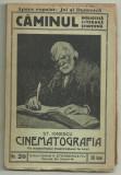 St.Ionescu / CINEMATOGRAFIA - descoperirea si istoricul ei - ed.1920