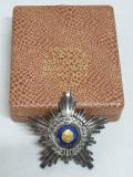 Ordinul STEAUA Republici Socialiste Romania clasa a 4a, la cutie CEAUSESCU 1975