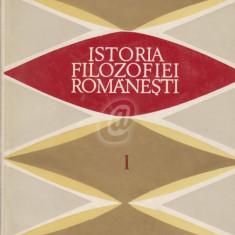 Istoria filozofiei romanesti, vol. 1