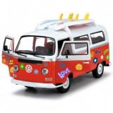 Cumpara ieftin Masina Copii Play Dickie Toys Volkswagen Surfer Van cu accesorii