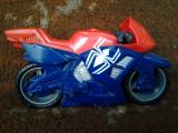 Spider Man Motocicleta jucarie copii 16 cm