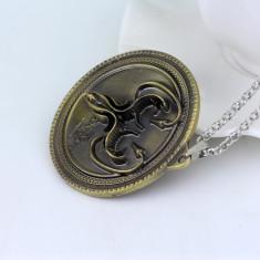 Pandantiv Medalion Game Of Thrones House Greyjoy  We Do Not Sow