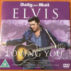 ELVIS : LOVING YOU   - DVD VIDEO MUSIC ORIGINAL