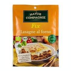 Sos Bio pentru Lasagna la Cuptor Natur Compagnie 40gr Cod: NC4636