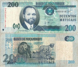 2011 (16 VI), 200 meticais (P-152) - Mozambic!