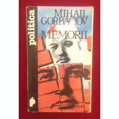 MEMORII - MIHAIL GORBACIOV - RADU PONTBRIANT