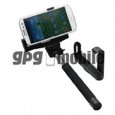 Camera Selfie Z07-5 bluetooth wireless extensibila cu monopod pentru iOS / Android ajustabila