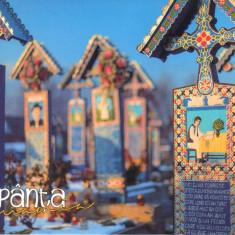 Carte postala CP MM010 Sapanta - Cimitirul Vesel - necirculata