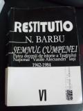 Semnul Cumpenei - N. Barbu ,549362