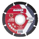 Cumpara ieftin Disc taiere multi-suprafata Raider, 125 x 22.2 mm