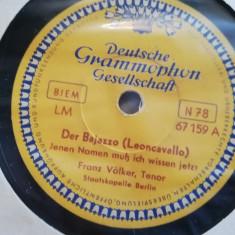 Verdi - Aida (Deutsche Grammophon/Germany) - DISC PATEFON/GRAMOFON/Stare F.Buna, Alte tipuri suport muzica